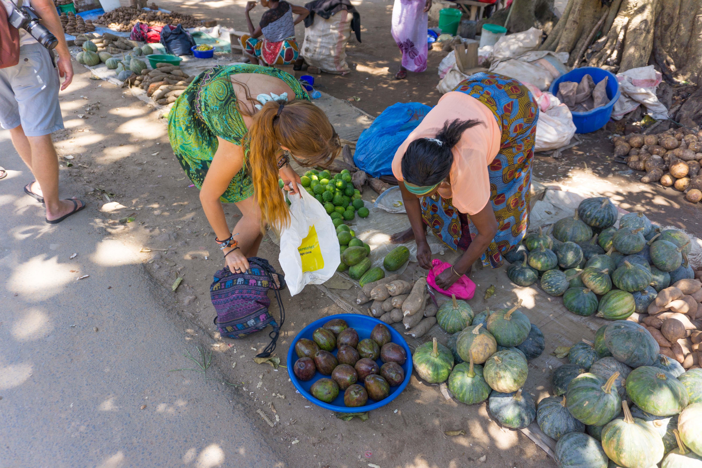 nkata bay market