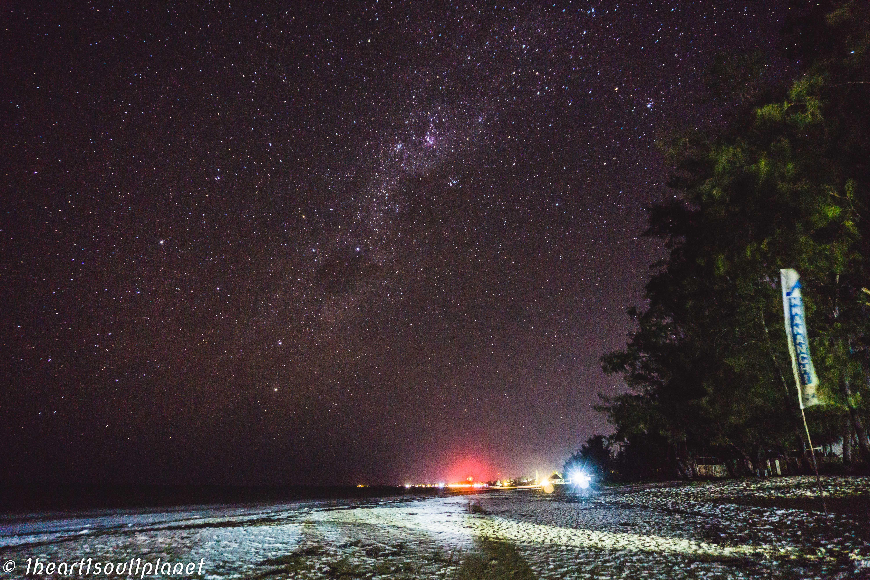 night sky zanzibar stars