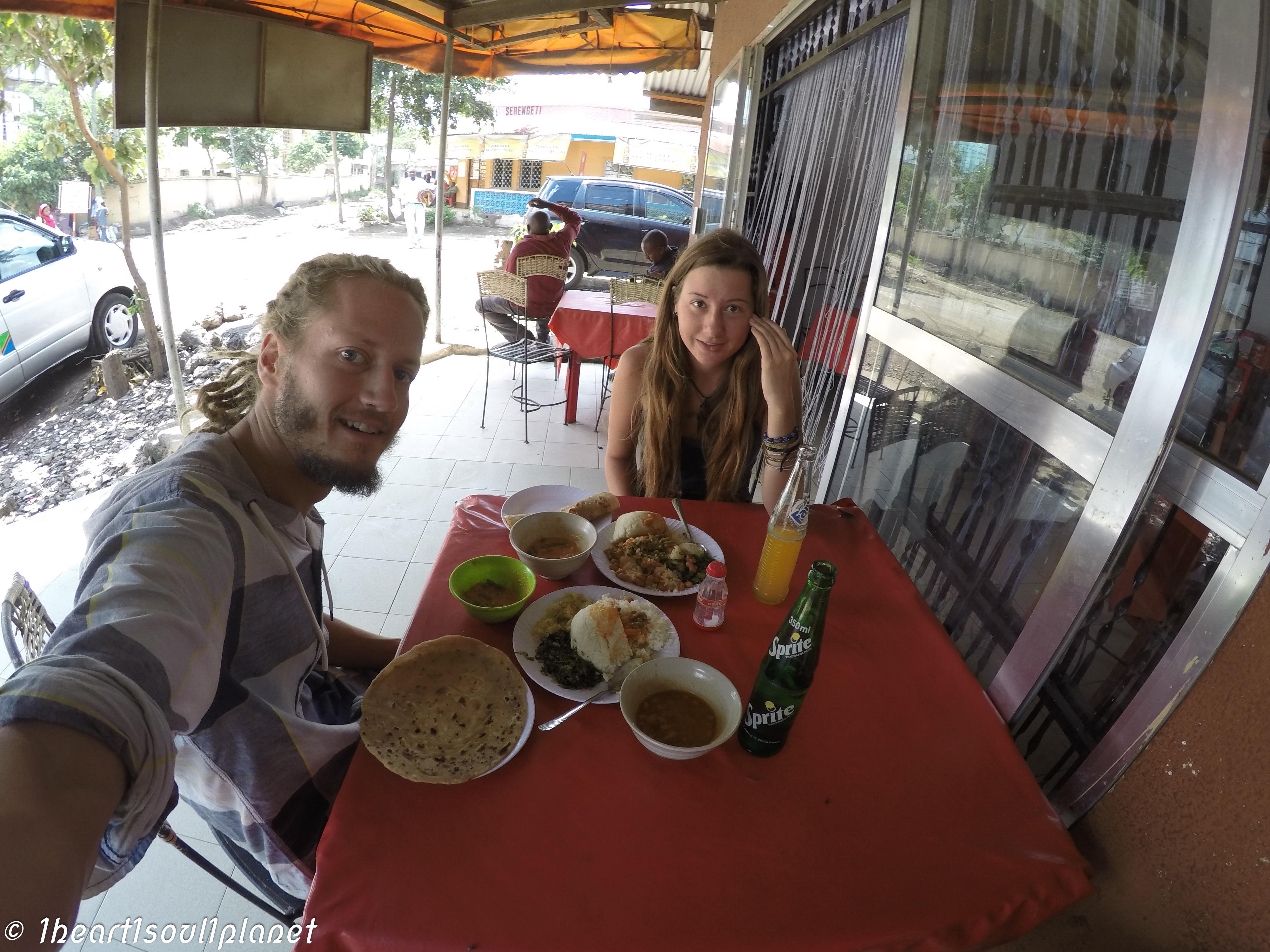 local food Arusha Tanzania.